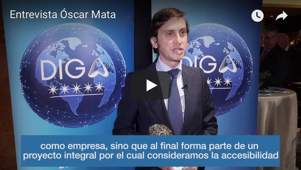 Miniatura vídeo entrevista Óscar Mata