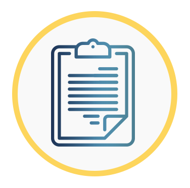Icono de un formulario