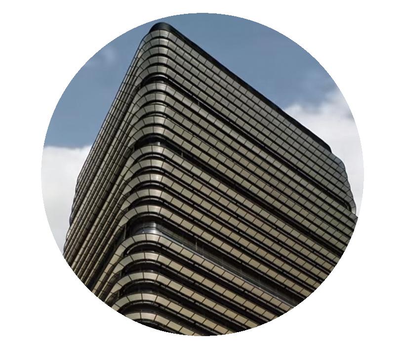 Imagen del exterior del edificio de Castellana 81