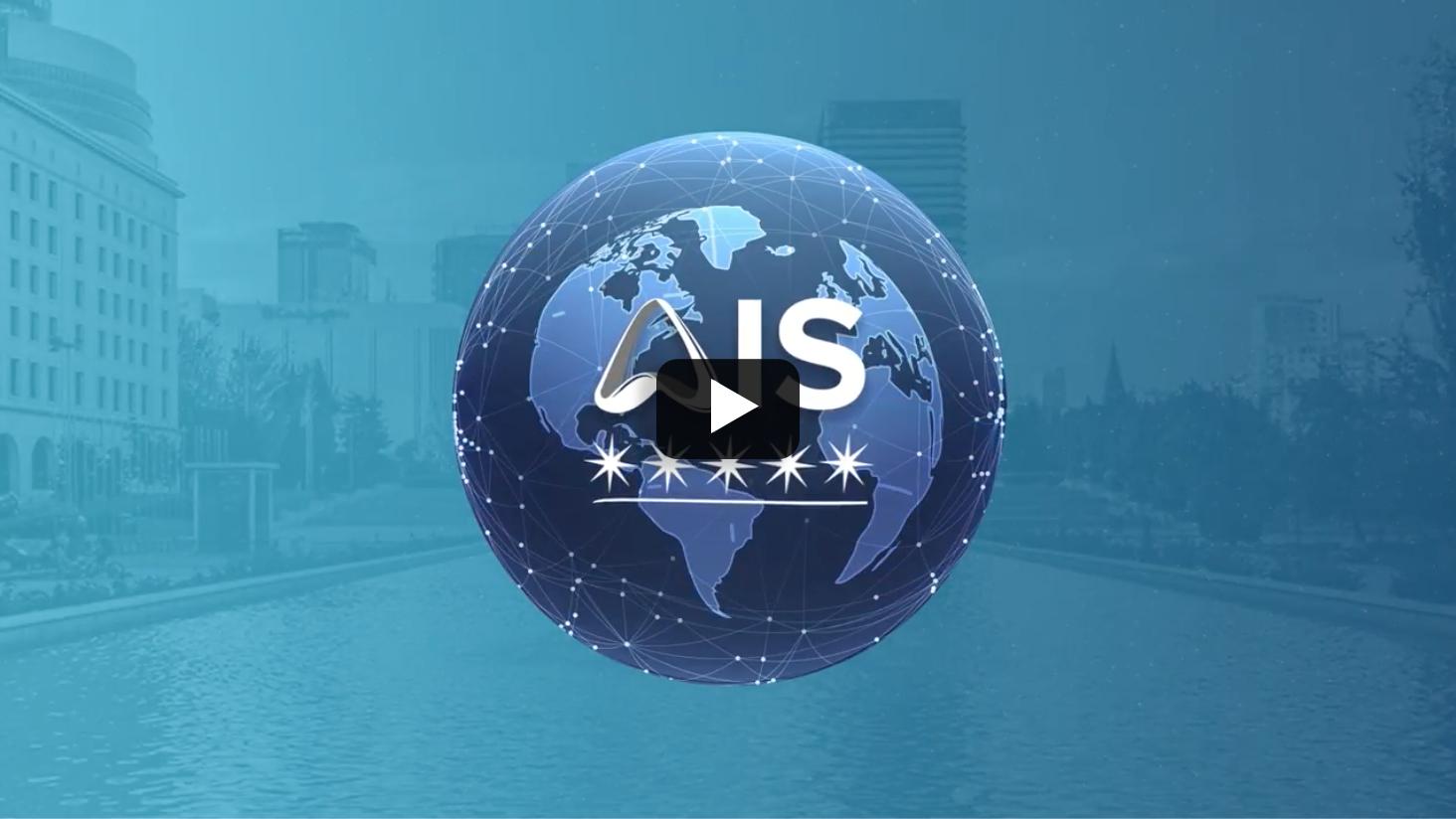 Imagen de reproductor de youtube, al pinchar abrirá una nueva página con el vídeo de Presentación AIS. Para acceder al vídeo audiodescrito (realizado por ARISTIA) pulsar botón inferior.