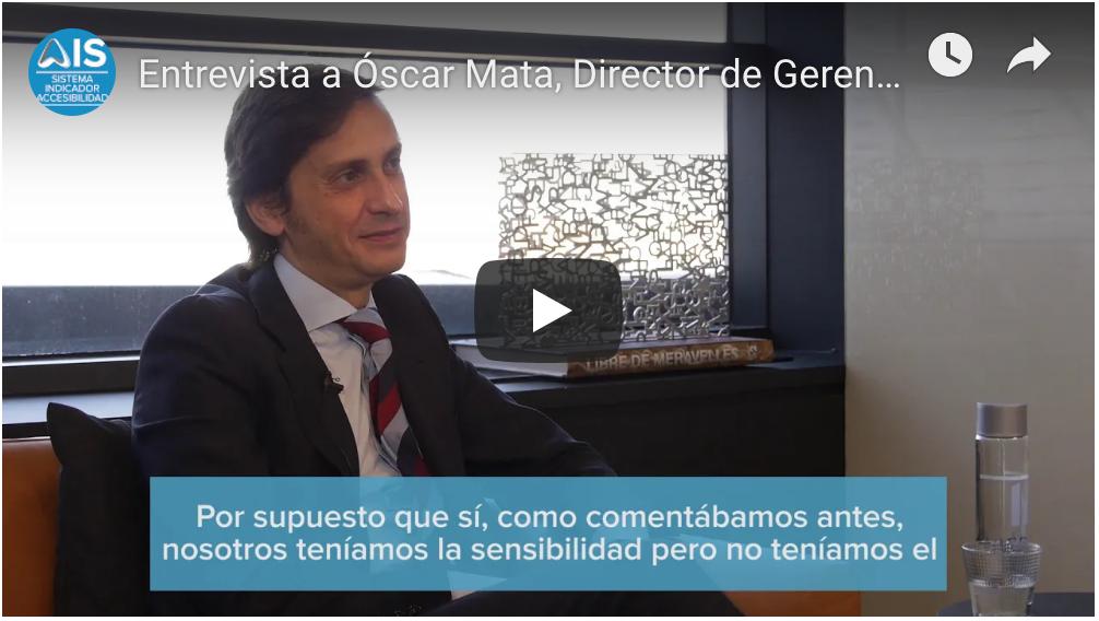Miniatura vídeo imagen de Óscar Mata.