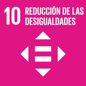 Icono reducción de las desigualdades