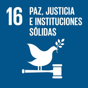 Icono paz y justicia