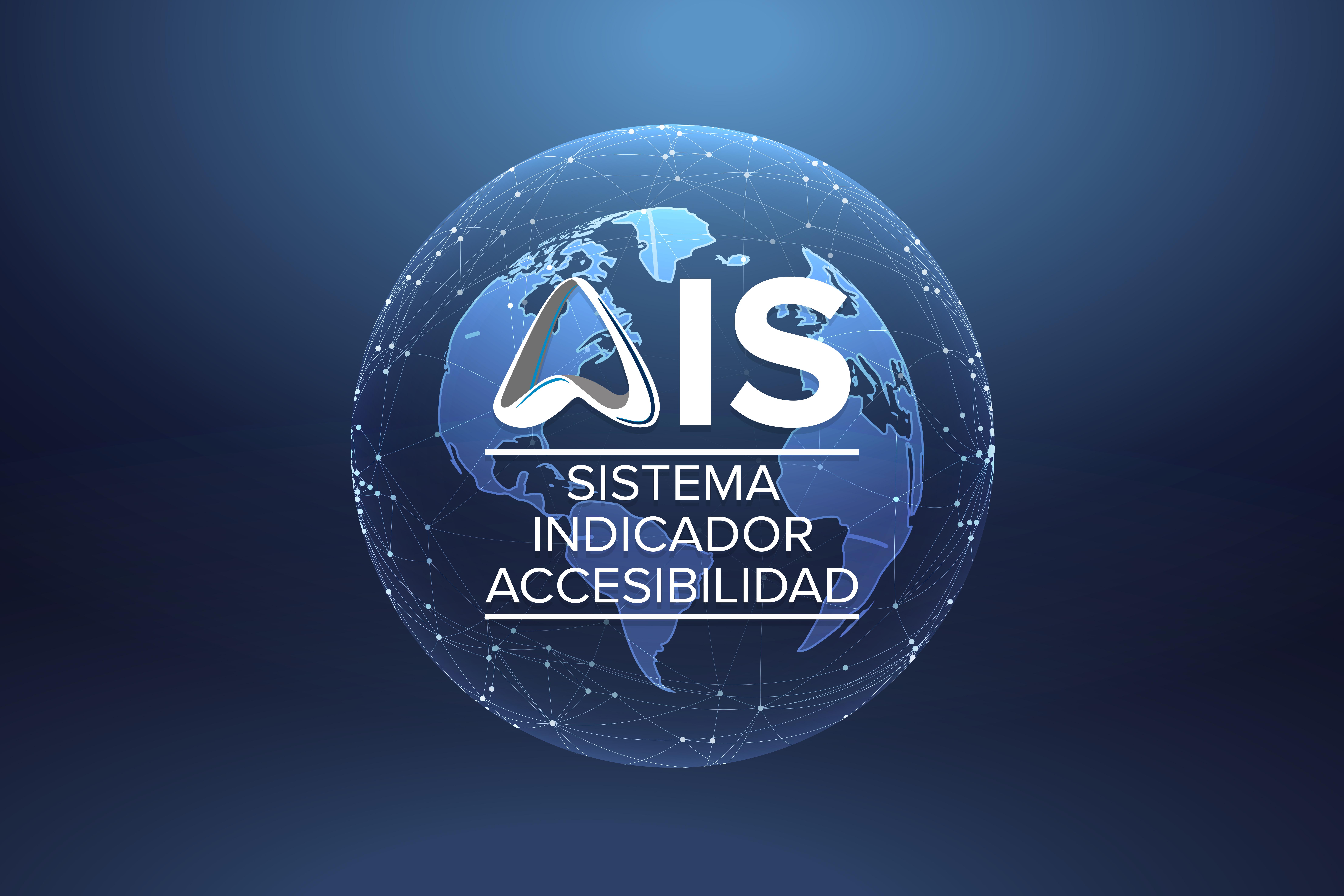 Bola del mundo con el logo de AIS