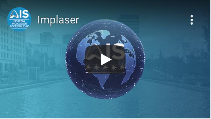 Miniatura del vídeo, el globo del mundo con el logotipo de AIS