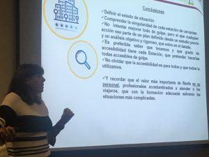 Esther Bienes interviene en el seminario