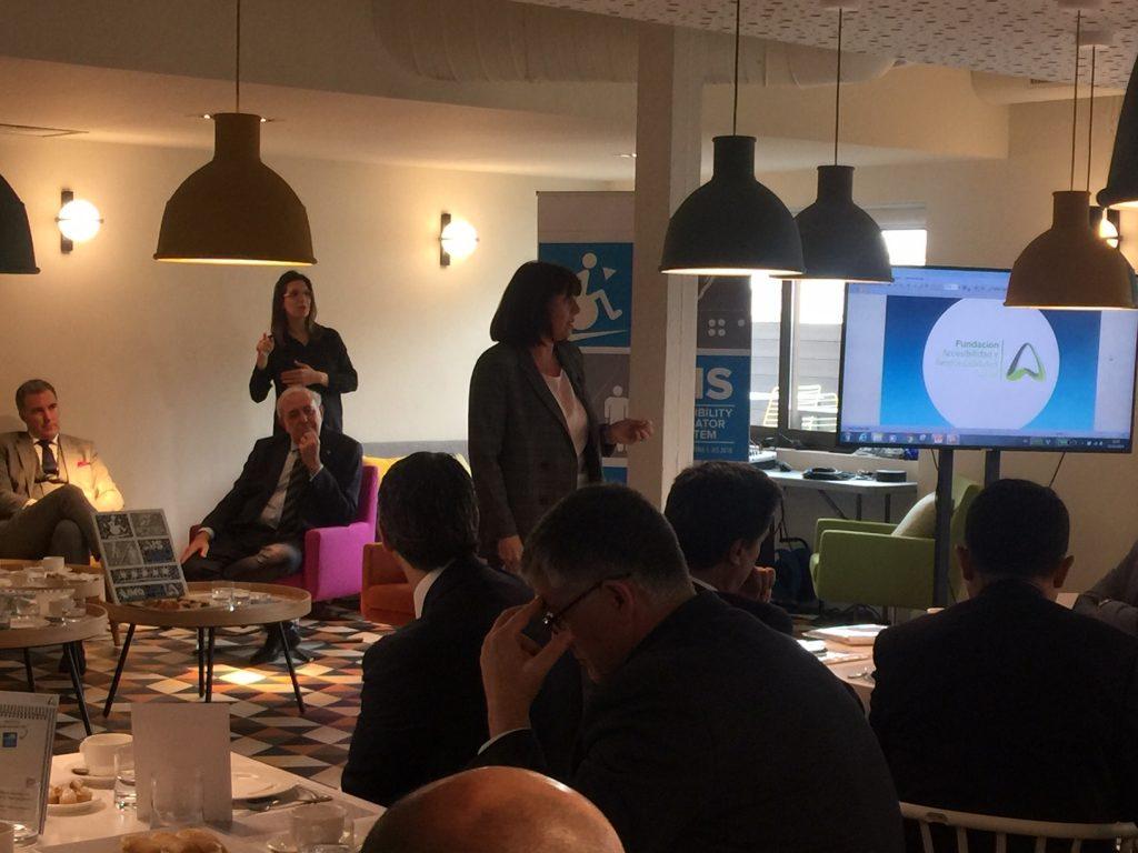Esther Bienes Pinedo, en la presentación de AIS