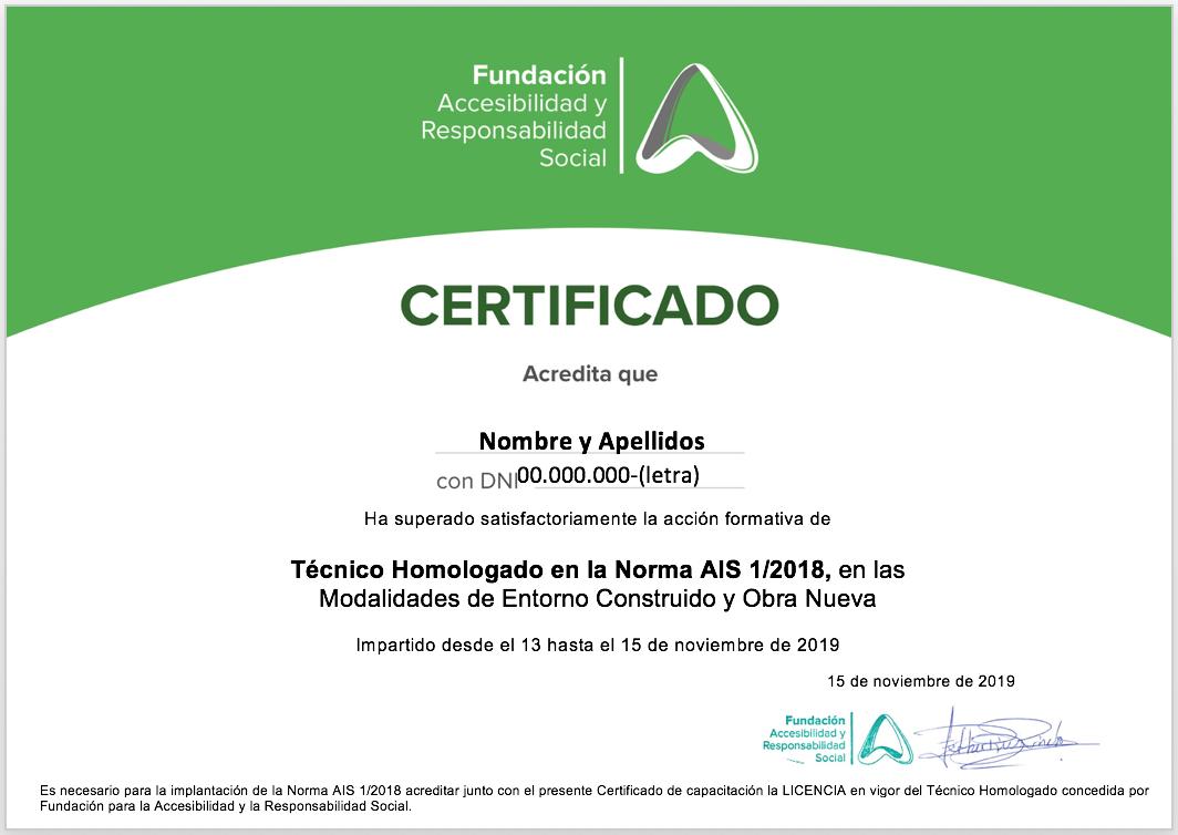 Miniatura de Certificado