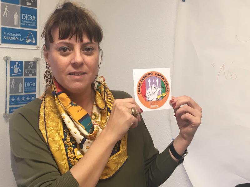 Esther Bienes apoya la campaña