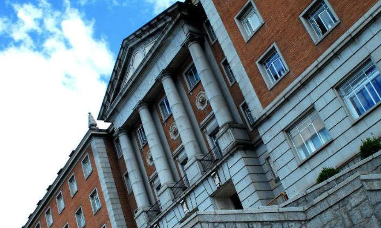 Aparece la fachada de la Universidad CEU