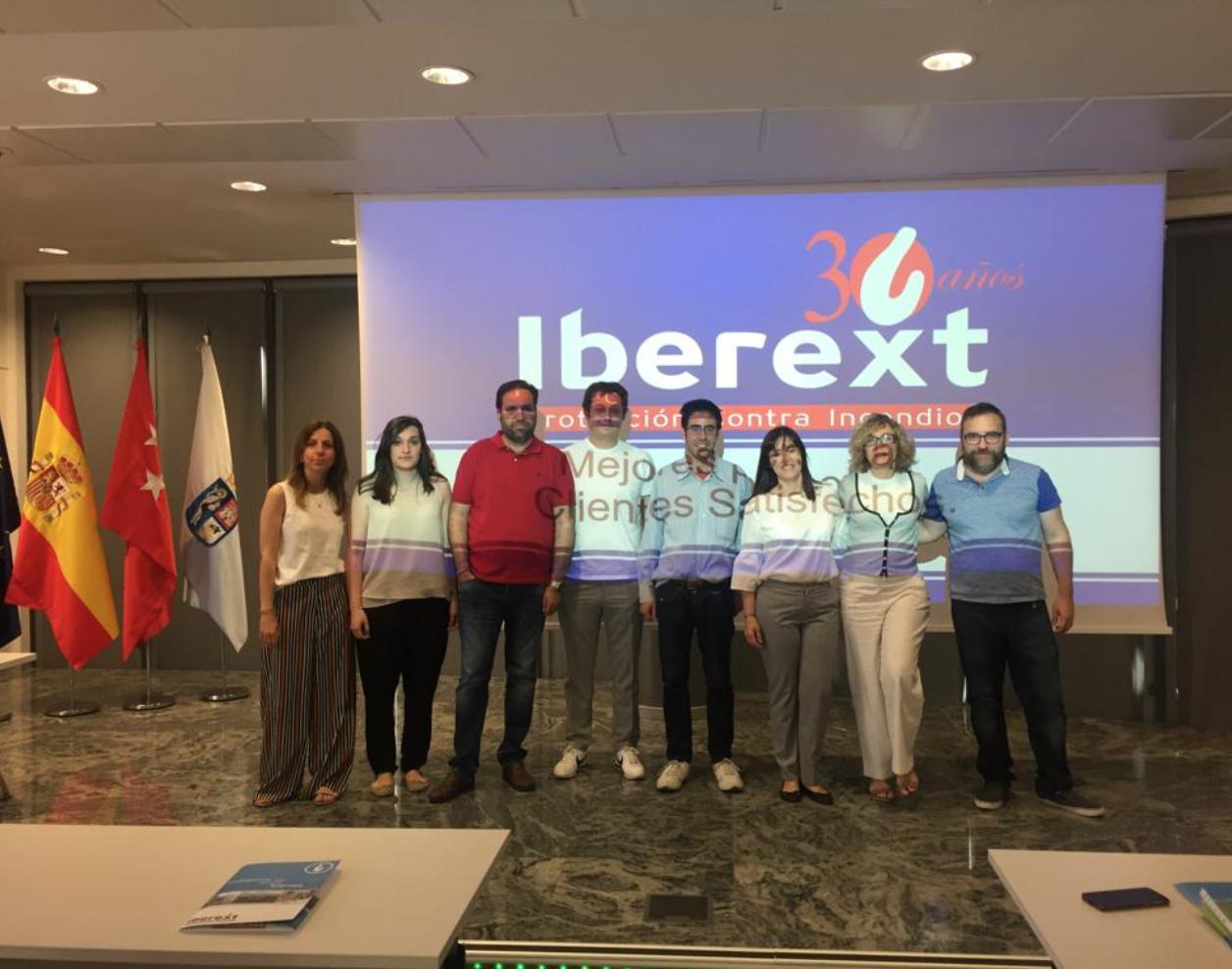 Foto de grupo de Fundación y Iberext