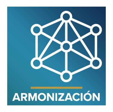 Icono que representa armonía con el texto Armonización