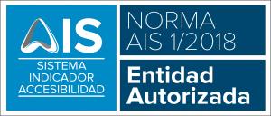 Placa ENTIDAD AUTORIZADA HORIZONTAL