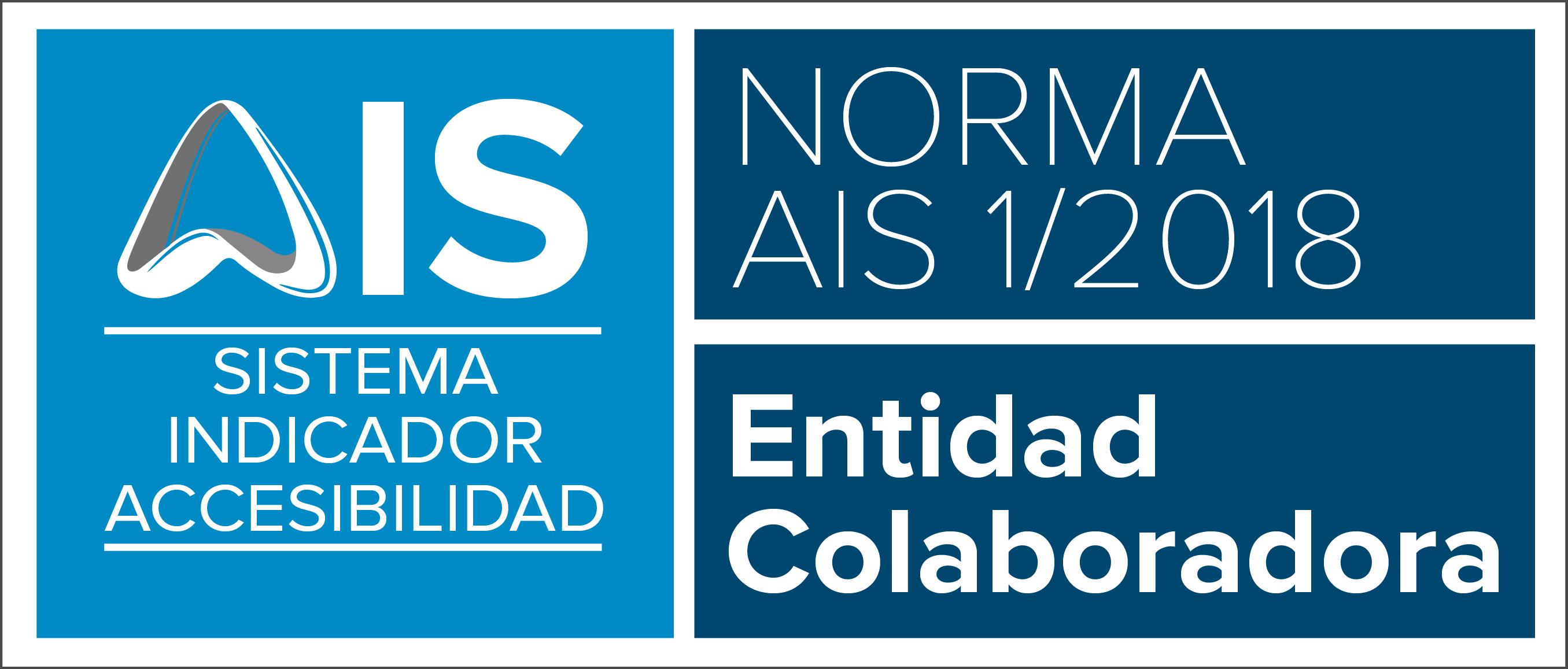 Placa ENTIDAD COLABORADORA HORIZONTAL