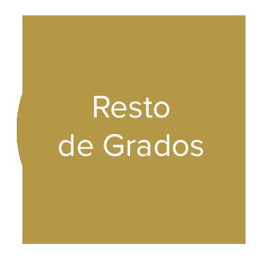 RESTO DE GRADOS