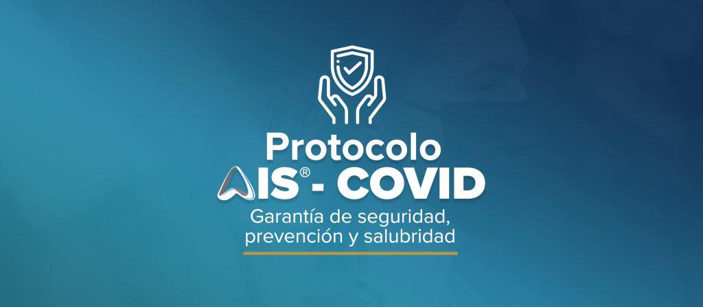 Logo del Protocolo de medidas de prevención del COVID