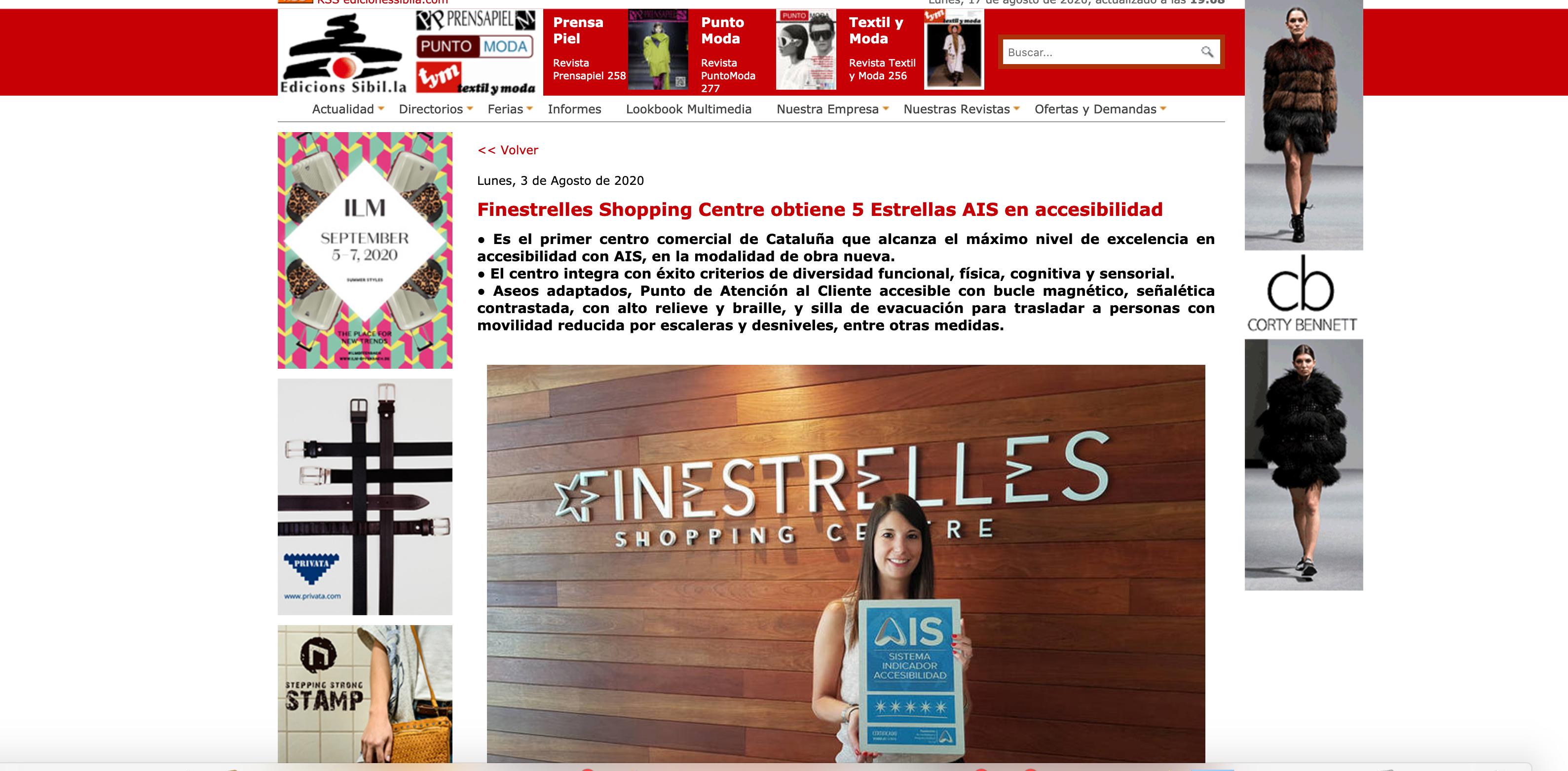 Captura de pantalla Ediciones Sibila