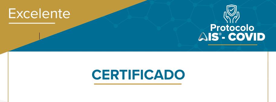 Certificado AIS COVID Excelente