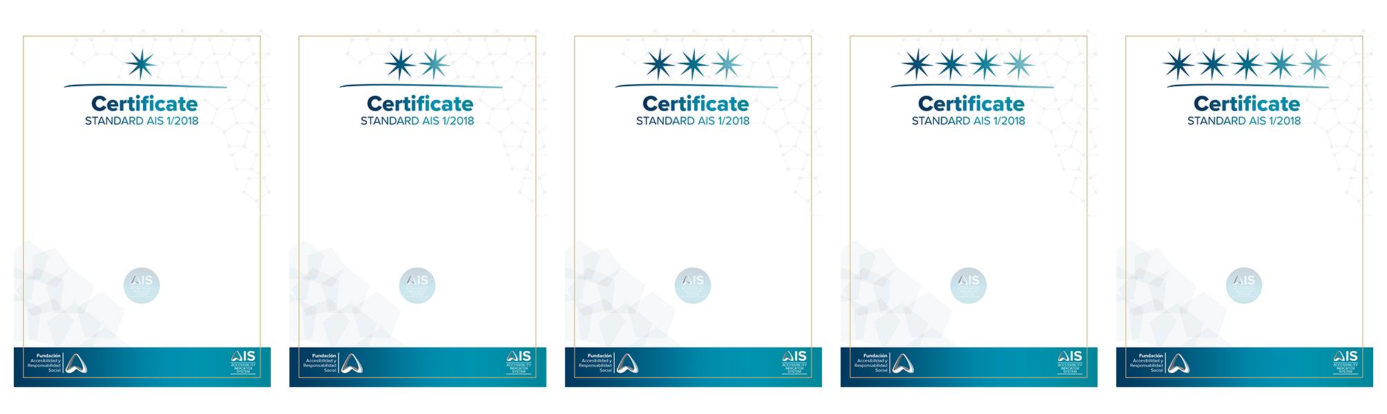 Aparecen impresos los Certificados AIS