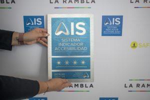 Placa 4 Estrellas AIS de La Rambla San Borja
